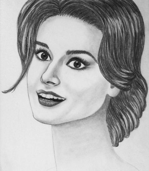 Audrey Hepburn by Nihale